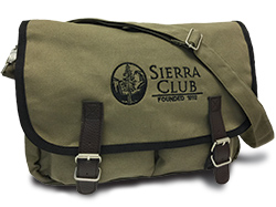 Green Field Messenger Bag