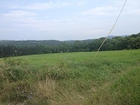 Proposed site of Dominion natural gas compressor station in